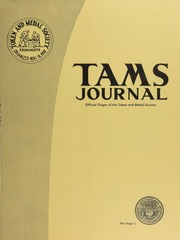 TAMS Journal, Vol. 6, No. 1