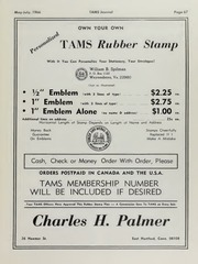 TAMS Journal, Vol. 6, No. 3