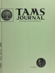 TAMS Journal, Vol. 7, No. 1