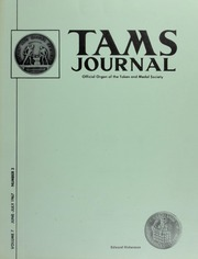 TAMS Journal, Vol. 7, No. 3