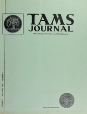 TAMS Journal, Vol. 7, No. 4