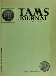 TAMS Journal, Vol. 7, No. 5