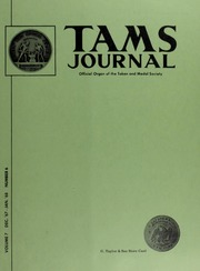 TAMS Journal, Vol. 7, No. 6