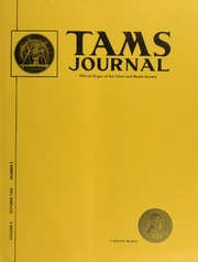 TAMS Journal, Vol. 08, No. 5