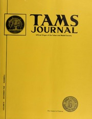 TAMS Journal, Vol. 8, No. 6