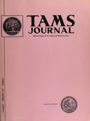 TAMS Journal, Vol. 9, No. 1