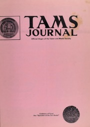 TAMS Journal, Vol. 9, No. 3