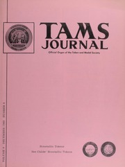 TAMS Journal, Vol. 9, No. 6