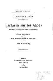 Tartarin sur les Alpes: nouveaux exploits du héros tarasconnais