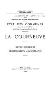 Vol 6: État des communes à la fin du XIXe siècle