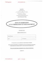 ENCG TÉLÉCHARGER 2014 PDF TAFEM