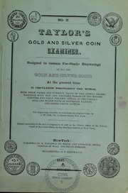 Taylor's Gold and Silver Coin Examiner, No. II