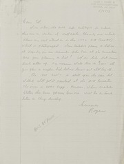 R. Tettenhorst Correspondence