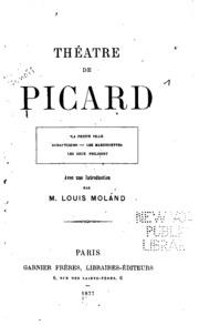 Vol 1: Théatre de Picard...