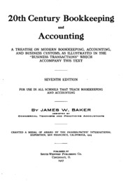 accounting and bookkeeping principles and practice pdf