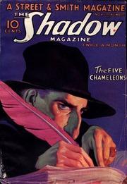 """Cover eines Heftes von """"The Shadow"""" (https://archive.org/details/the_shadow_32.11.01)"""
