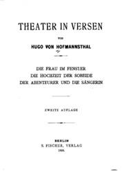 Vol pt. 2617: Theater in Versen