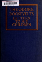 Theodore Roosevelt's letter...