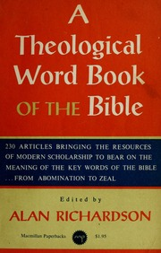 Theological Wordbook Of The Old Testament Pdf
