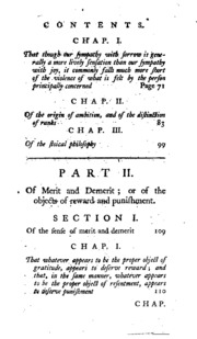 essay on the theory of moral sentiments The theory of moral sentiments: or, an essay towards an analysis of the principles by which men naturally judge concerning the conduct and character,  which is.