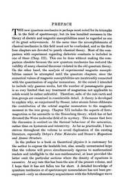 The theory of electric and magnetic susceptibilities, by J. H. Van Vleck