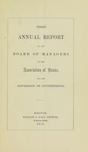 Picture of Association of Banks for the Suppression of Counterfeiting