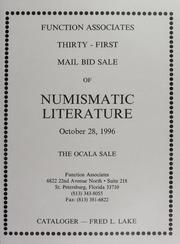Thirty-First Mail Bid Sale of Numismatic Literature