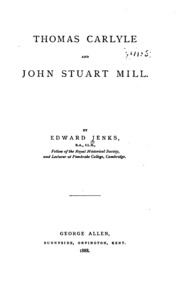 john stuart mill autobiography essay on liberty thomas carlyle  thomas carlyle and john stuart mill microform