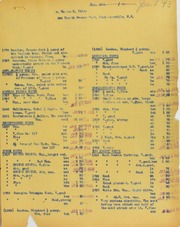 Thomas L. Elder Invoices from B.G. Johnson,