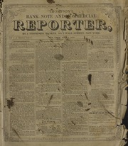 Thompson's Bank Note and Commercial Reporter, 6/1/1853