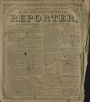 Thompson's Bank Note and Commercial Reporter, 11/5/1853