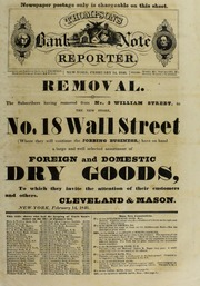 Thompson's Bank Note Reporter, 2/14/1846