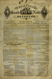 Thompson's Bank Note Reporter, 7/15/1843