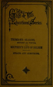 chemistry of the four seasons spring summer autumn and winter thomson s seasons autumn and winter microform