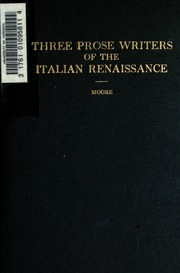 italian renaissance writers