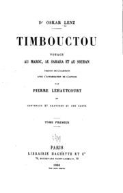 Vol 1: Timbouctou, voyage au Maroc, au Sahara et au Soudan