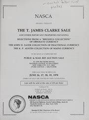 The T. James Clarke Sale