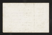 Matriculation. Mr. Samuel M. Zulick Of the State of Pennsylvania is Regularly Matriculated in the Medical Department of the Pennsylvania College at Philadelphia, for the Ensuing Session. Samuel George Morton, Dean. Philadelphia, Nov. First, 1842 (verso)