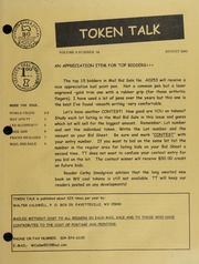 Token Talk: August 2002 Issue