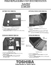 Toshiba satellite laptop repair fix disassembly tutorial.