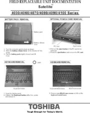 Laptop service manuals: toshiba: free texts: free download.