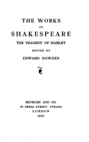 the tragedy of hamlet prince of denmark english literature essay A study of the theme of disease and corruption in hamlet by william  english  literature essays  throughout the play we can trace a progression of corruption , that leads to death, through 'disease' in the characters of polonius, claudius and  hamlet  when marcellus states, 'something is rotten in the state of denmark.