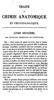 Vol 2: Traité de chimie anatomique et physiologique normale et pathologique, ou, Des principes ...