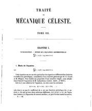 Vol 3: Traité de mécanique céleste