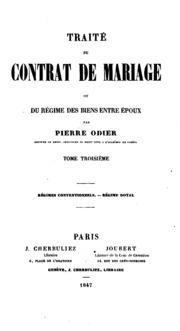 trait du contrat de mariage pothier robert joseph 1699 1772 free download borrow and. Black Bedroom Furniture Sets. Home Design Ideas