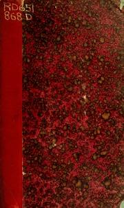 Traité du diagnostic des maladies chirurgicales; diagnostic des tumeurs
