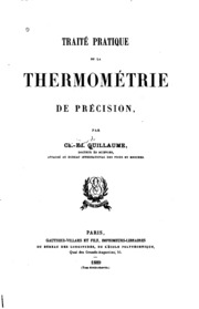 Traitʹe pratique de la thermomʹetrie de prʹecision