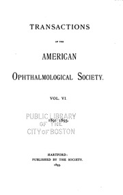 american ophthalmological society thesis Computer-assisted quantification of vascular tortuosity in retinopathy of prematurity (an american ophthalmological society thesis)'s profile, publications.