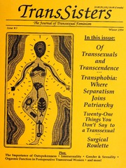TransSisters : the journal of transsexual feminism, 1994 Winter, #3