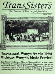 TransSisters : the journal of transsexual feminism, 1995 Winter, #7